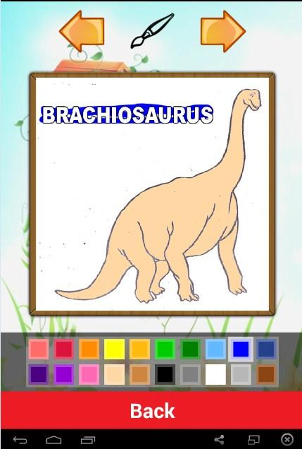 Jurassic Dino Coloring Book 10 Screenshot 2