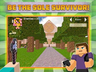 Cube Gun Survival Games C10.1 screenshot 3