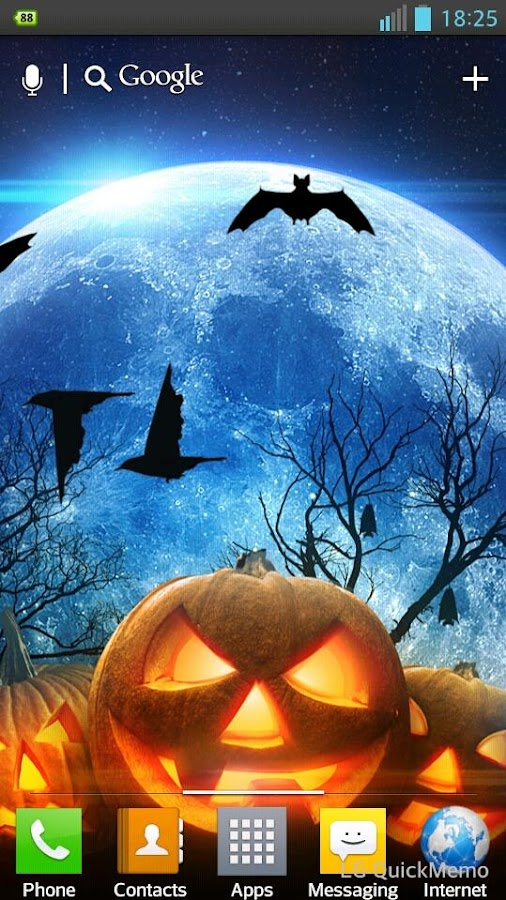 halloween hd live wallpaper 10 screenshot 2