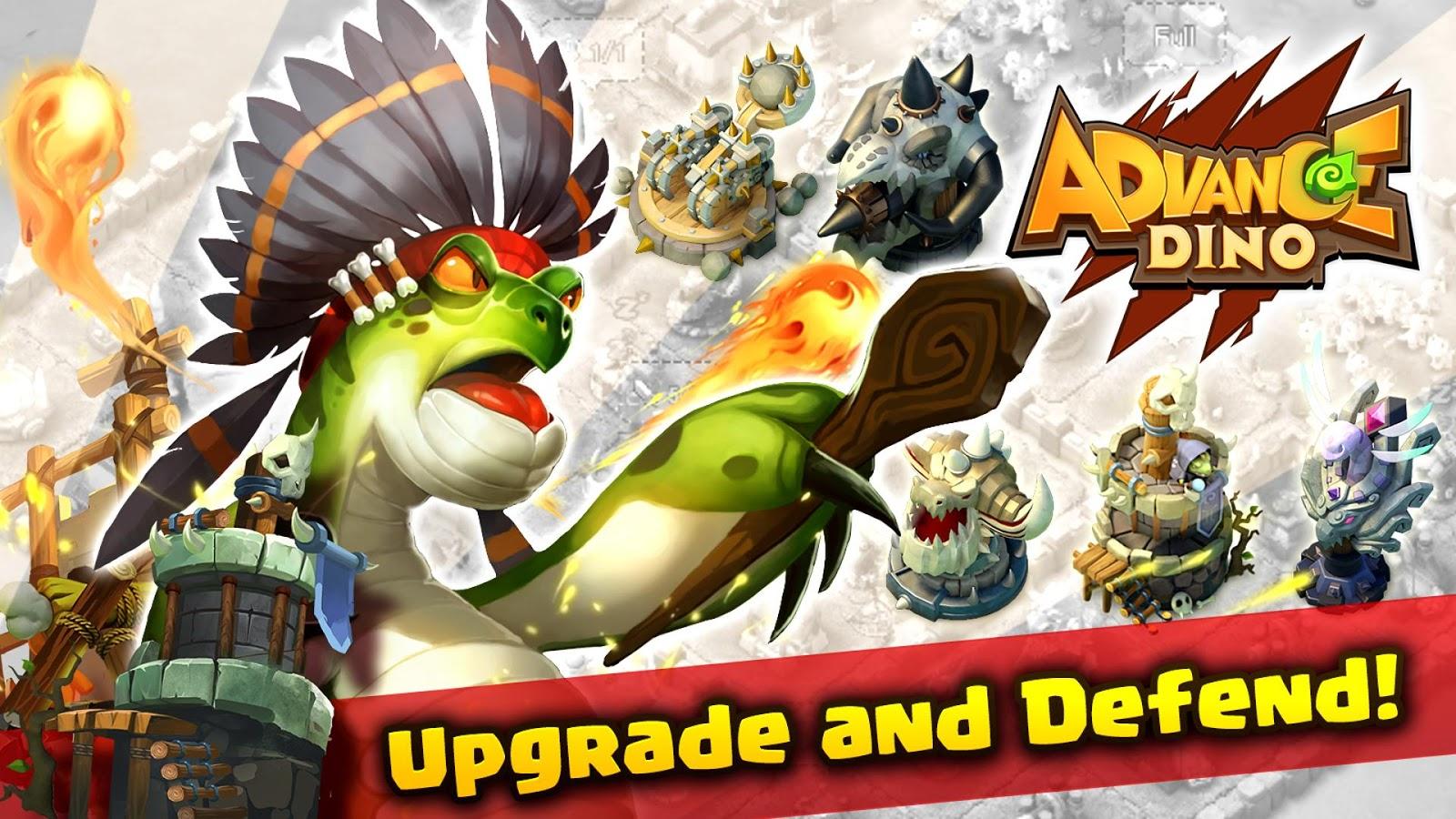 ... Advance Dino 1.11 screenshot 14 ...