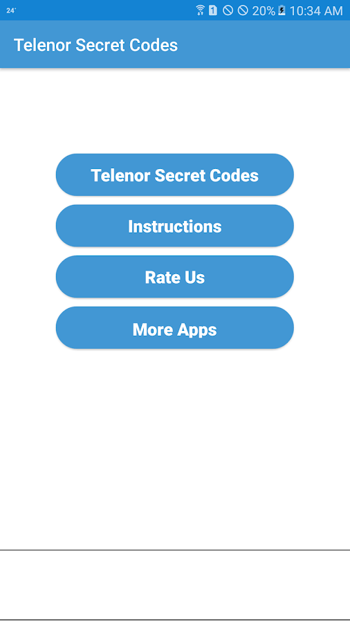 Secret Codes of Telenor 1 3 APK Download - Android Communication Apps