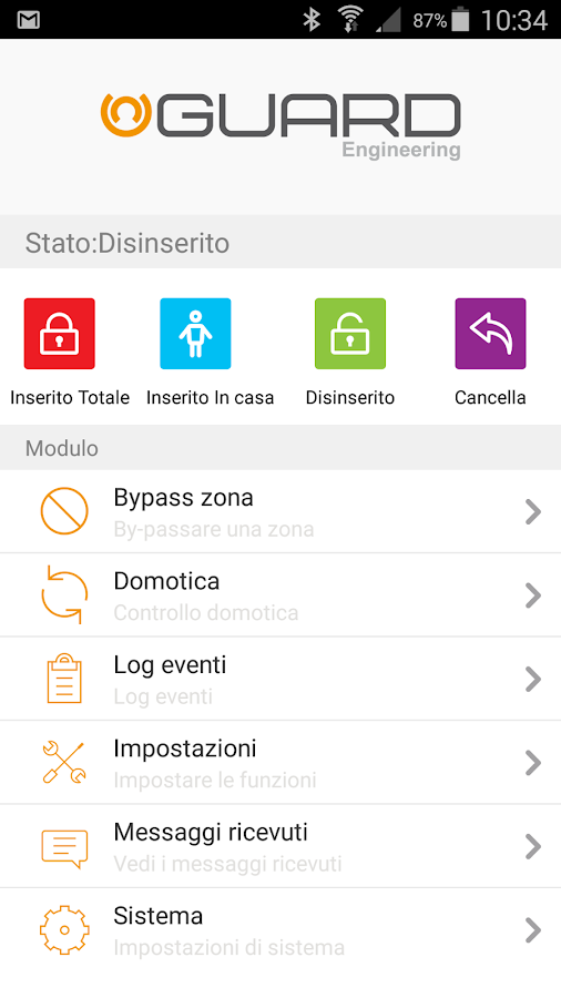 Guard IP per centrale iALARM 1 4 4 APK Download - Android Tools Apps