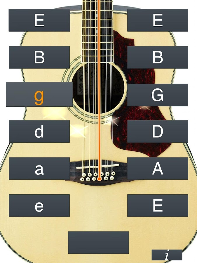 12 string guitar tuner simple 5 1 3 apk download android music audio apps. Black Bedroom Furniture Sets. Home Design Ideas