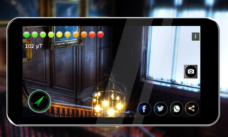 Ghost detector Pro (EMF) 1 1 5 APK Download - Android