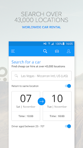 Rentalcars.com Car Rental App 3.36.1 screenshot 1
