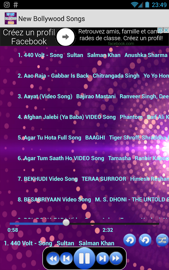 Top 100 New Bollywood Songs 42 Apk Download Android Music Audio