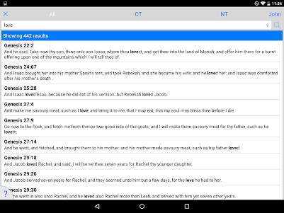 Holy Bible King James + Audio 7.12.4 screenshot 14