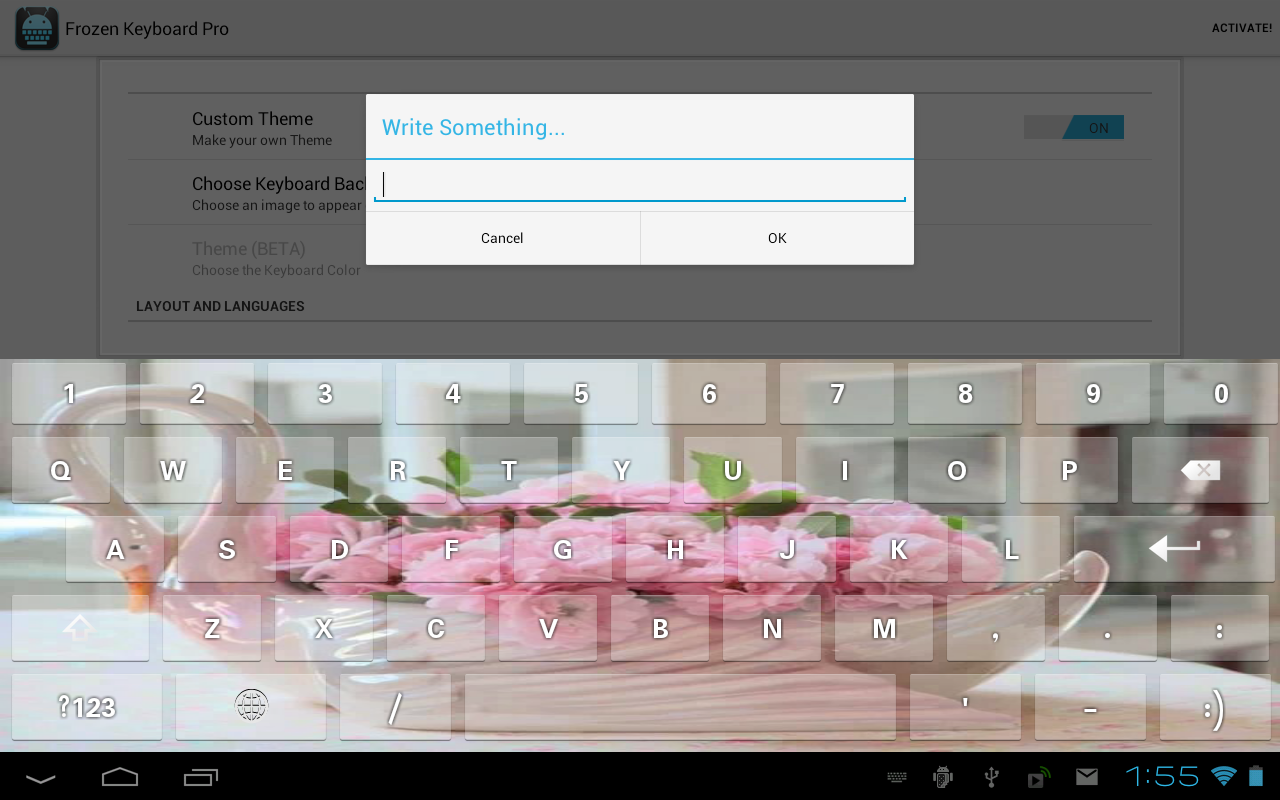 Frozen Keyboard Pro 1 0 9 APK Download - Android Productivity Apps