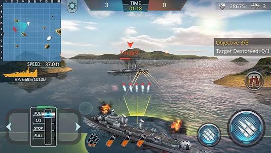 Warship Attack 3D 1.0.6 screenshot 2