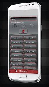 com.CMP.BlackWeatherandClockWidget 3.0 screenshot 1