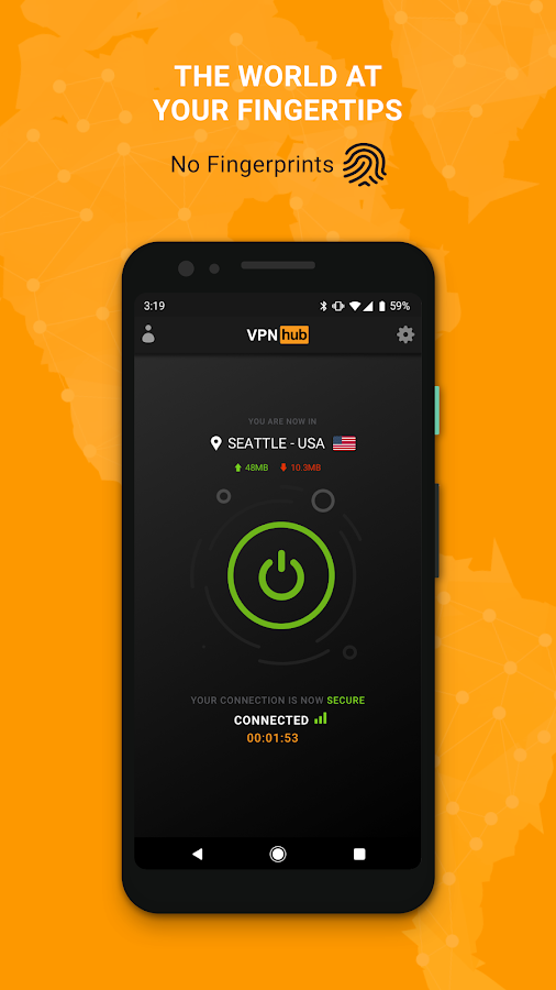 Free VPN - VPNhub for Android: No Logs, No Worries 2 1 4 APK