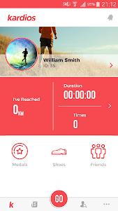 Kardios - Running, Cycling and Social 0.0.20 screenshot 1
