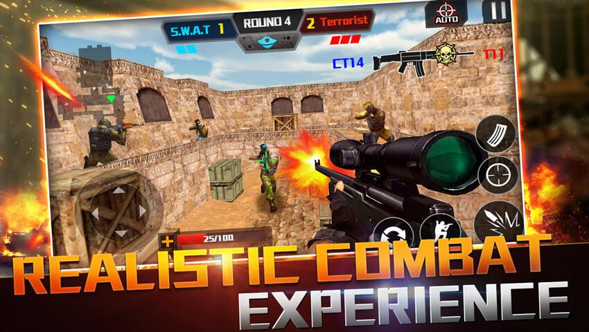 926eacfea8230 Critical strike multiplayer 1.0.2 APK Download - Android Action Games