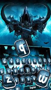 Dark Death Keyboard Theme 10001002 screenshot 1