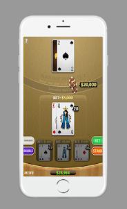 Blackjack AJ 1.0 screenshot 4