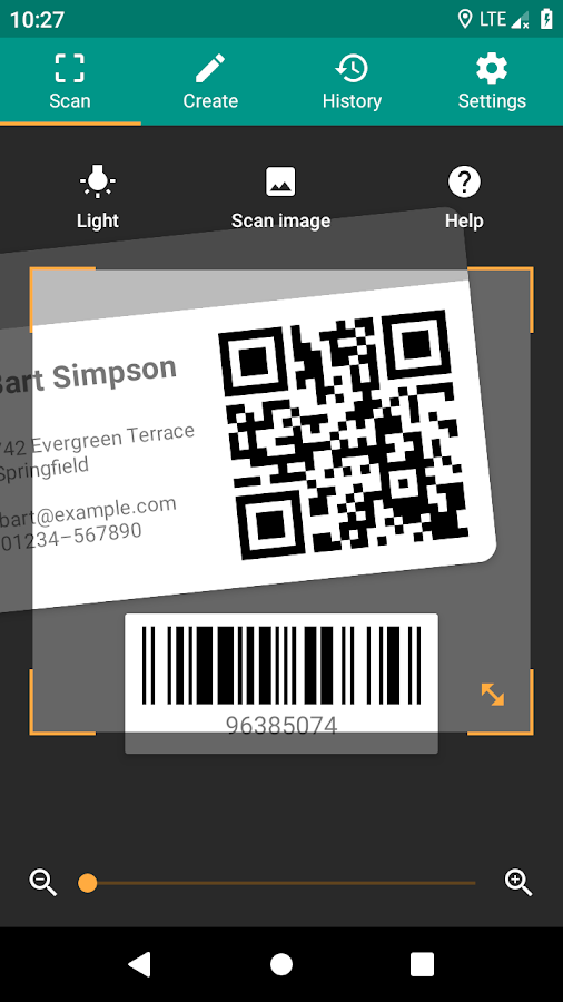 barcode scanner zxing team apk