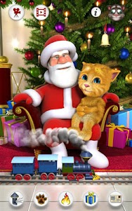 Talking Santa meets Ginger +  screenshot 10
