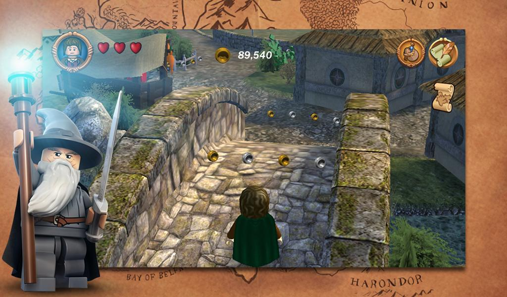 Lego The Lord Of The Rings Apk Download Android Adventure Games