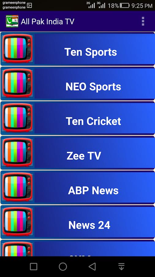 73+ Pak India Tv Hd Apk - Pak India HD Tv 10 Download APK For