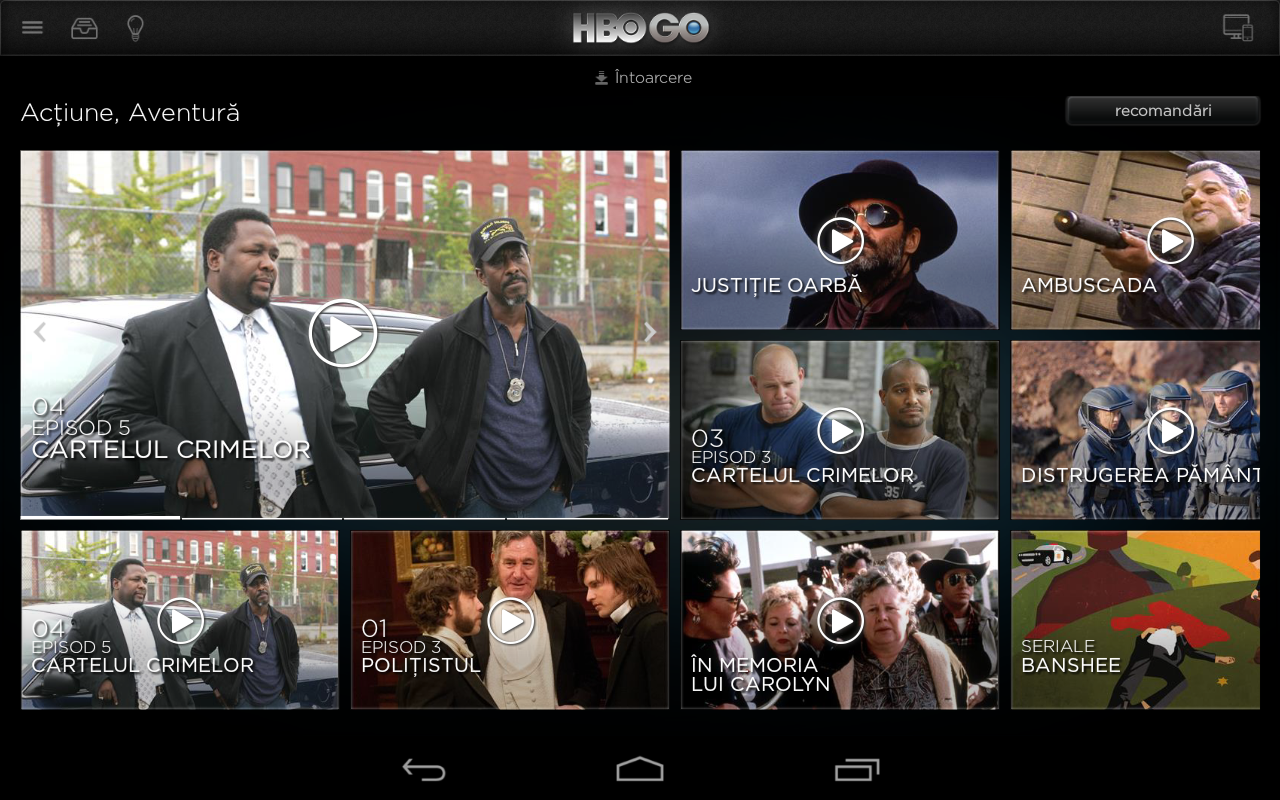 HBO GO Romania 4 8 0 APK Download - Android Entertainment Apps