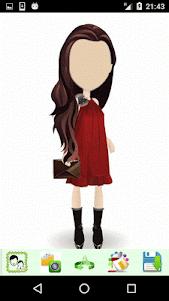 Girls Cartoon Look 1.4 screenshot 4