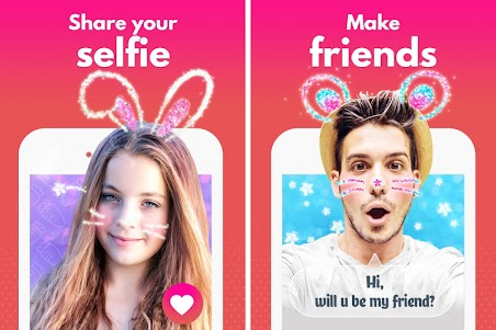 Selfie Cup-Find Teen Friends 1.0.2 screenshot 1