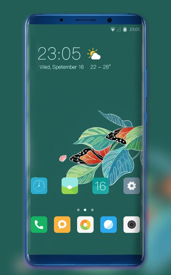 Theme for Oppo Realme 2 nature flowers wallpaper 2 0 1 APK