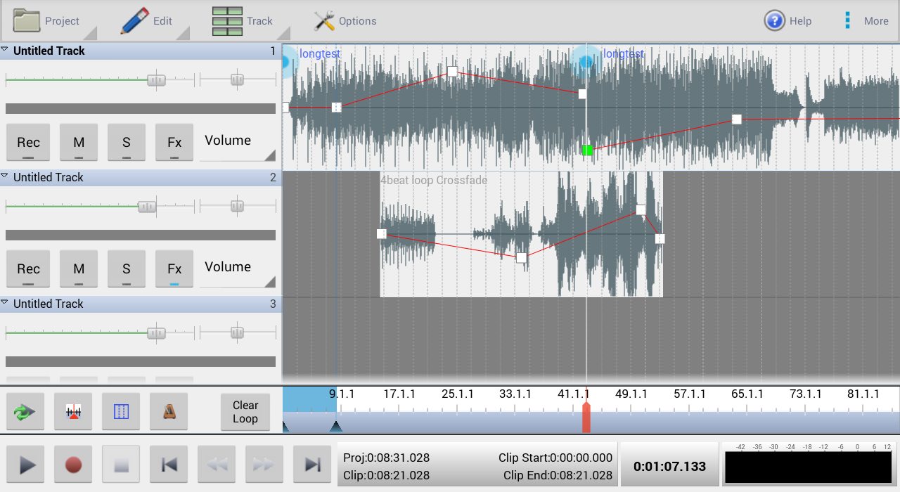 MixPad Multitrack Mixer Free 5 36 APK Download - Android