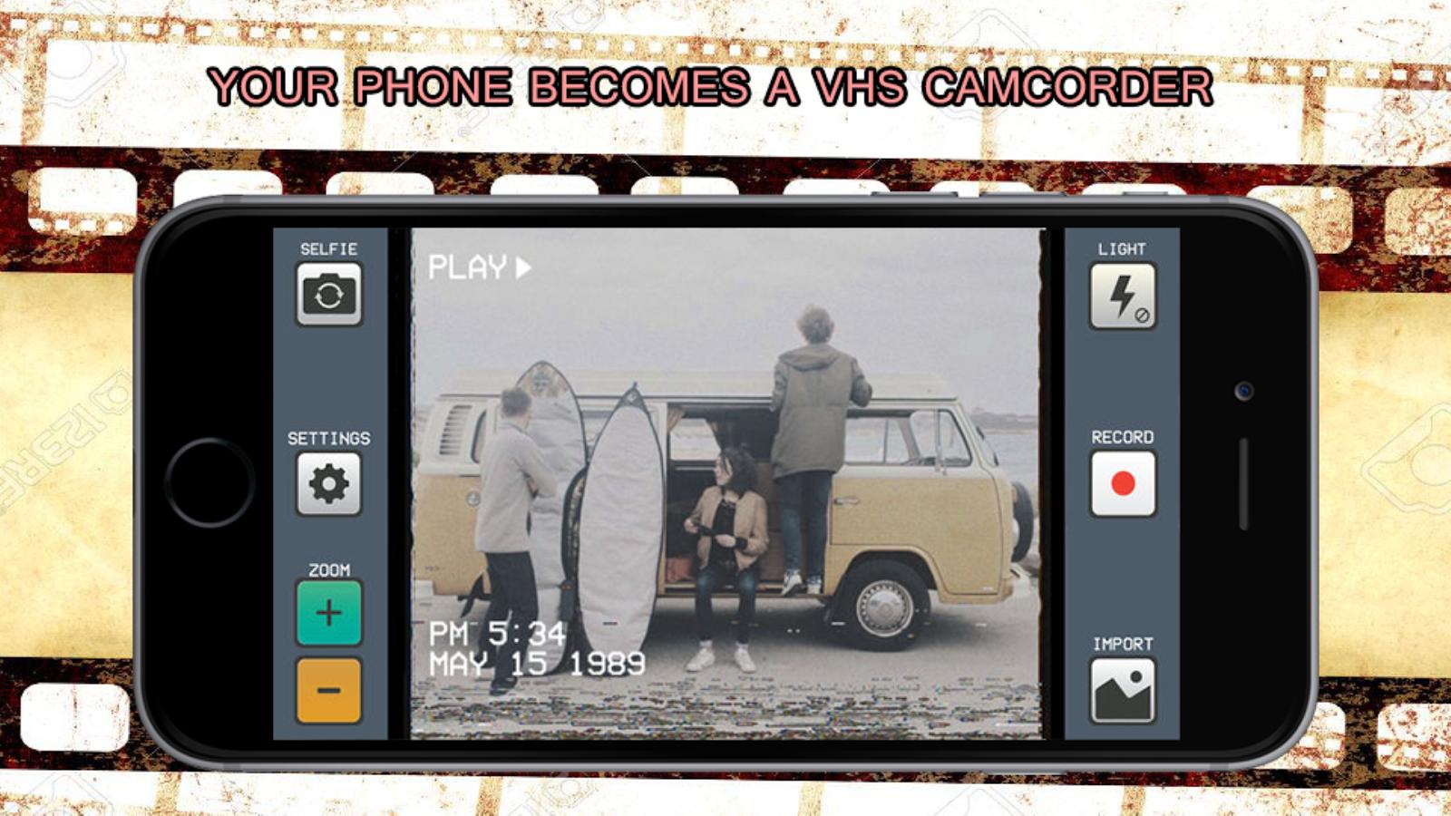 Camcorder - Vhs Home Videos RAD, Make VHS Video 1 1 1 APK