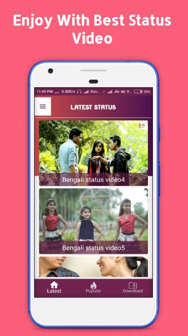 Bengali Video Status Video Status For Whatsapp 12 Apk