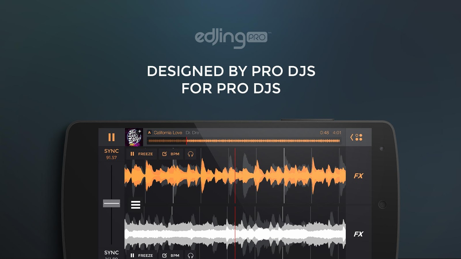 edjing PRO LE - Music DJ mixer 1 5 4 APK Download - Android