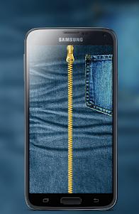 Jeans Zipper Screen Locker 1.1 screenshot 1