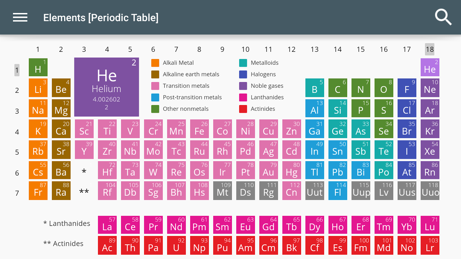Elements periodic table 10 apk download android education apps elements periodic table 10 screenshot 2 urtaz Gallery