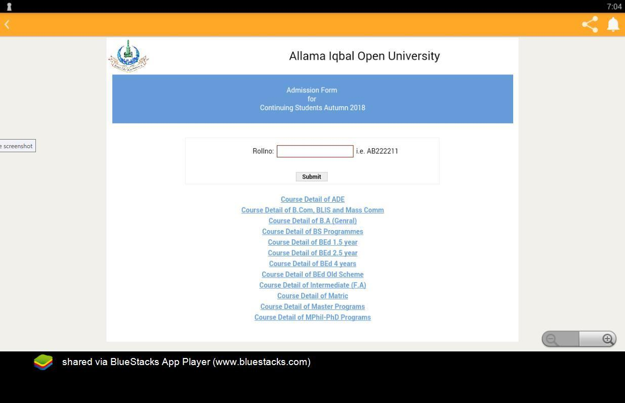 AIOU Results, Rollno Slip Tutors 9 1 APK Download - Android