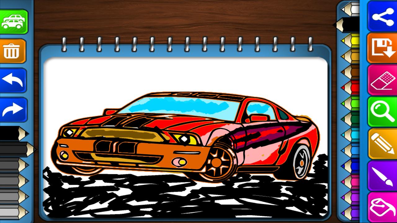 Coloring Games : Racing Car 1.2 APK Download - Android ...