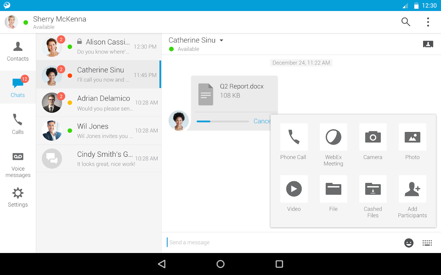 Cisco Jabber 11 9 2 256690 Apk Download Android