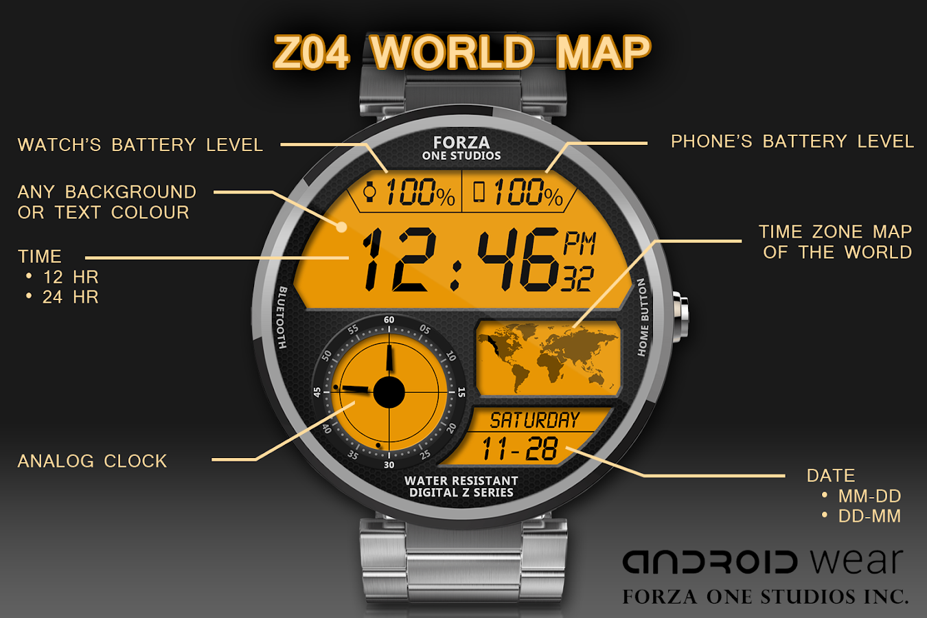 Watch Face Z04 Android Wear 815 Apk Download Circuit Board Clock V 10 For G Facerepo Screenshot 1