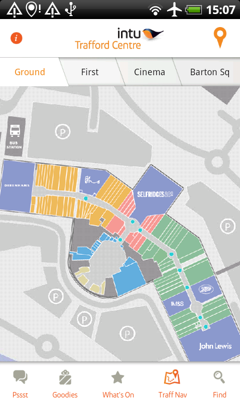 Trafford Centre Shop Map the intu Trafford Centre 1.0.5 APK Download   Android Lifestyle Games