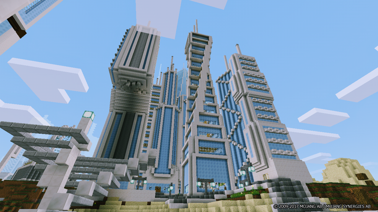 Futuretroplis City map for Minecraft 103 a  APK Download - Android