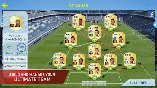 FIFA 15 Ultimate Team 1.7.0 screenshot 1