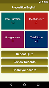 English Preposition 1.0 screenshot 3