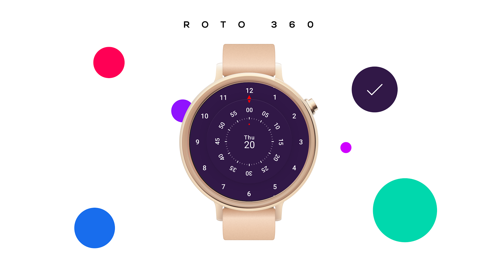 Roto 360 Watch Face For Android Wear Apk Download Circuit Board Clock V 10 G Facerepo Screenshot 1