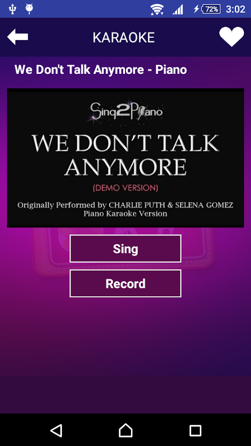 Karaoke Sing and Record 1 0 20 APK Download - Android