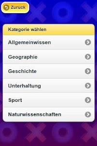 Tic Tac Toe Trivia 1.1.0 screenshot 1