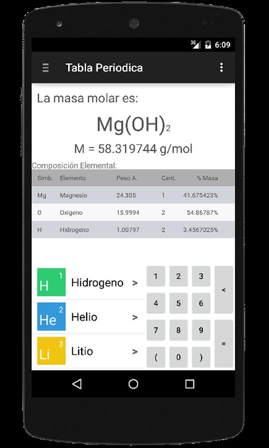 Tabla periodica y nomenclatura 11 apk download android education apps tabla periodica y nomenclatura 11 screenshot 7 urtaz Images