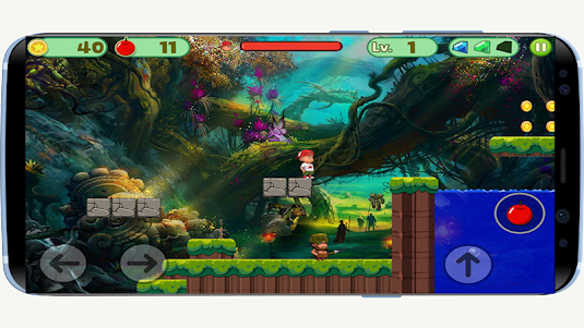 Jungle Adventure Super Boy 1.0 screenshot 1