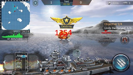 Warship Attack 3D 1.0.6 screenshot 4