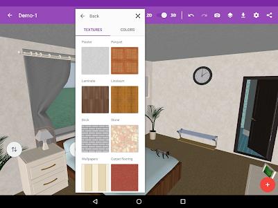 Bedroom Design 1.7.0 screenshot 5