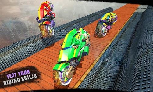 Impossible Moto Bike Tracks Robot Transformation 1.0 screenshot 5