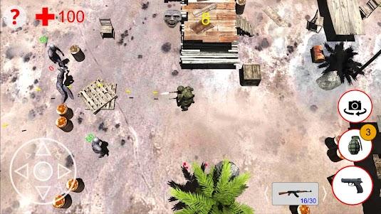 Shooting Zombies Free Game 1.0 screenshot 4